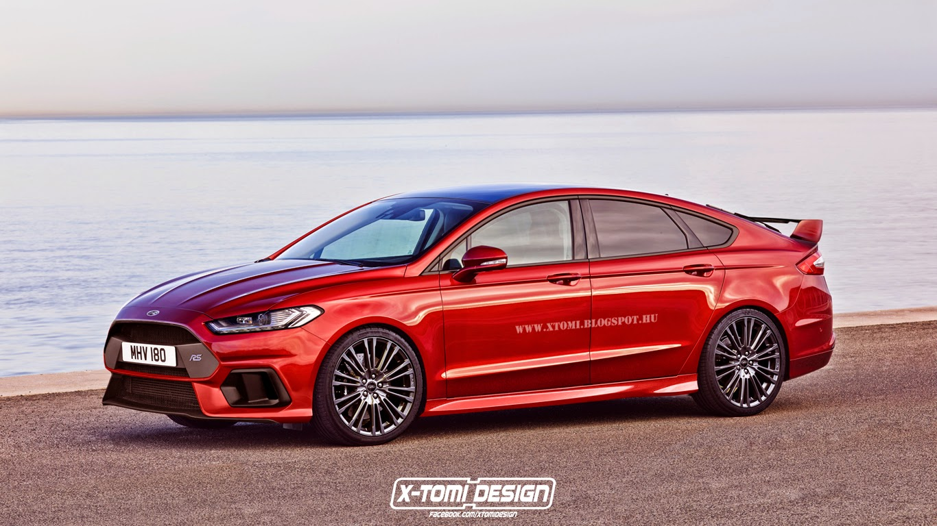 Ford Mondeo RS front2